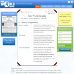 New World Resume Design