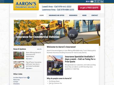 Aaron's Insurance