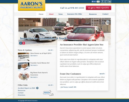 Aarons Insurance After