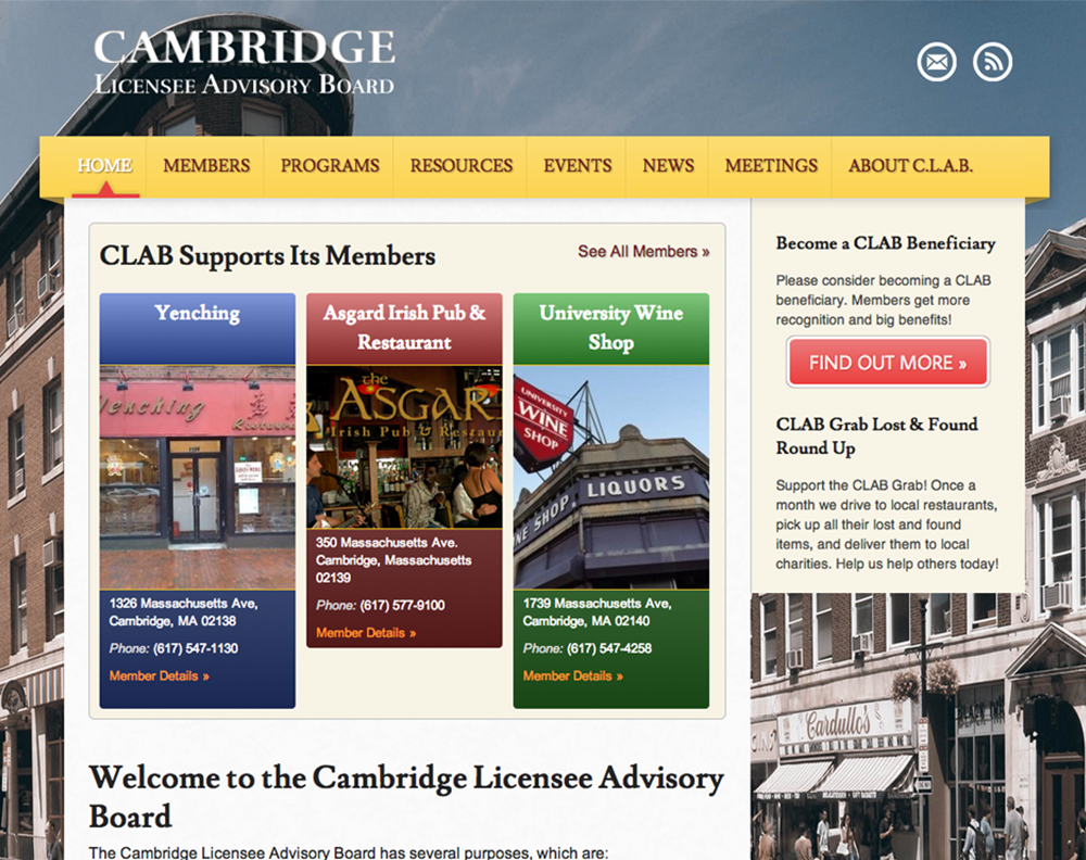 Cambridge Licensee Advisory Board After