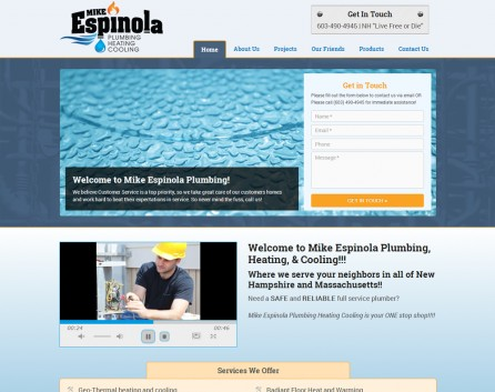Mike Espinola Plumbing After