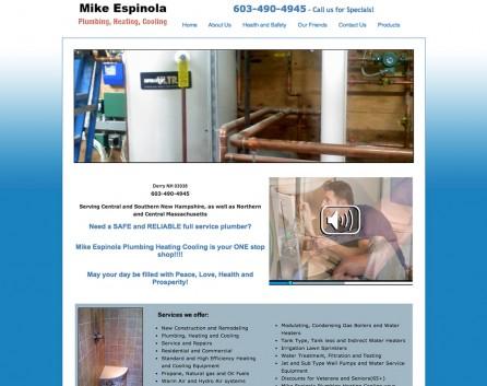 Mike Espinola Plumbing Before