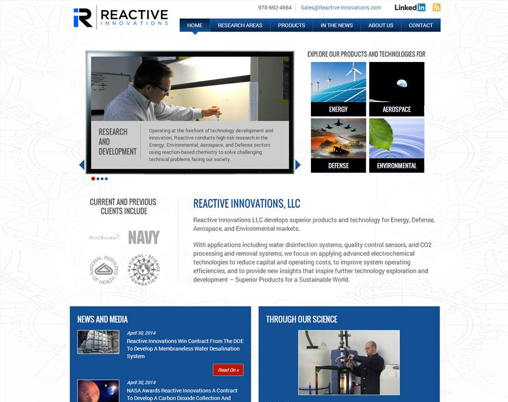 Reactive Innovations Screenshot
