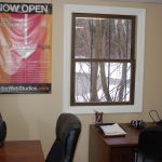 Stellar Web Studios new office on Rogers St