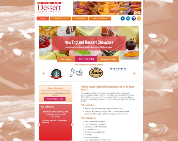 New England Desert Showcase   New England Dessert Showcase