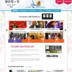 Folk-Festival-Website