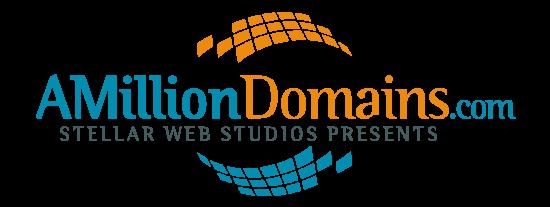 Logo for A Million Domains
