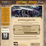 Lowell Kinetic Sculpture Race Website Design
