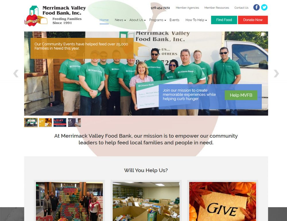 Home Merrimack Valley Food Bank After